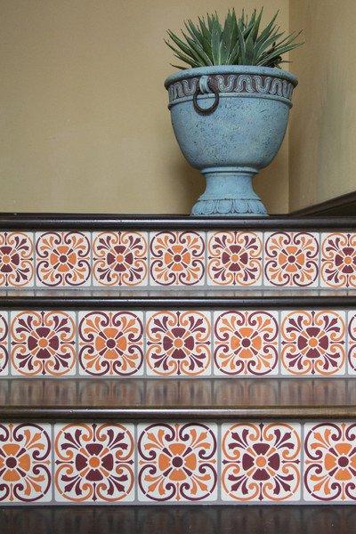 Tuscan Tile Stencil