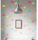 Paper Planes Stencil