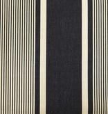 Paris Noir Ticking Fabric
