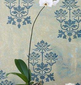 Kamal Lotus Flower Stencil