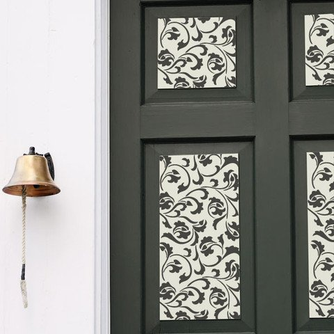 Royal Design Studios Sm Scrollallover Stencil