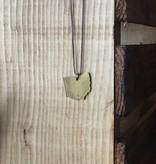 Brass Ohio Necklace