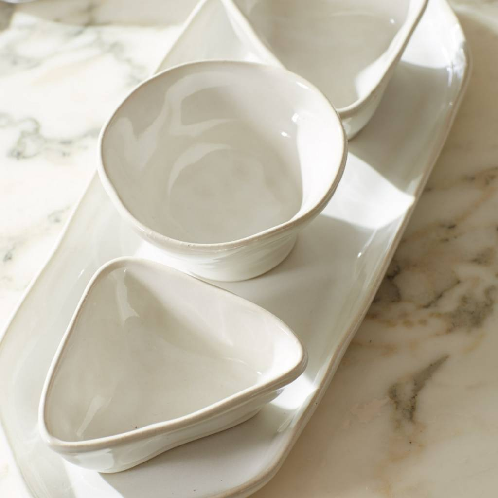 Forma Cloud Round Dipping Bowl