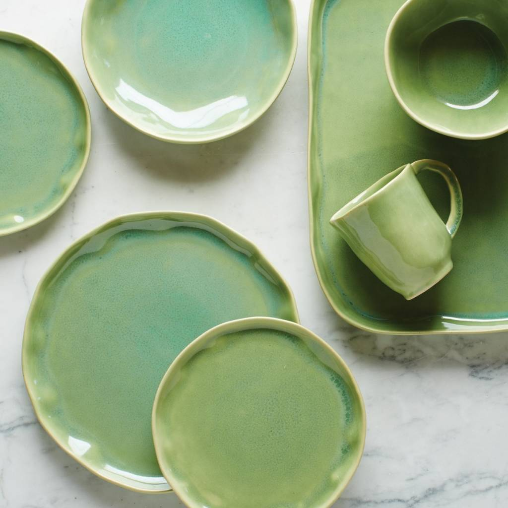 Forma Leaf Dinner Plate