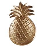 Brass Styled Pineapple Jewelry Tray