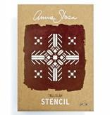 A4 Tallulah Stencil