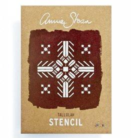 Annie Sloan A4 Tallulah Stencil