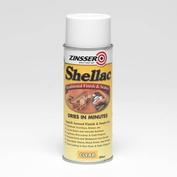 Shellac Spray Can