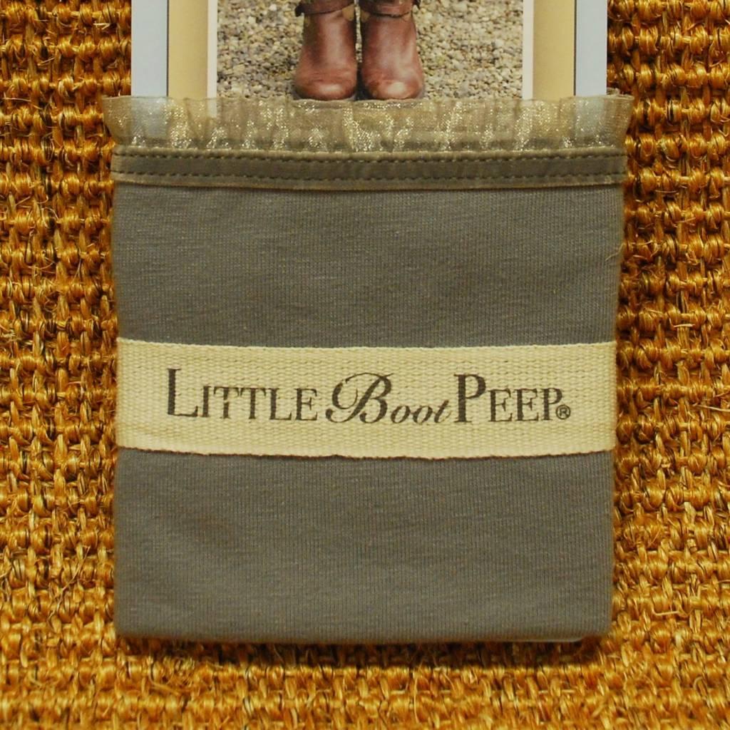 Little Boot Peep Velvet Ruffle