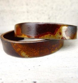 "1/2"" bracelet rusted steel"