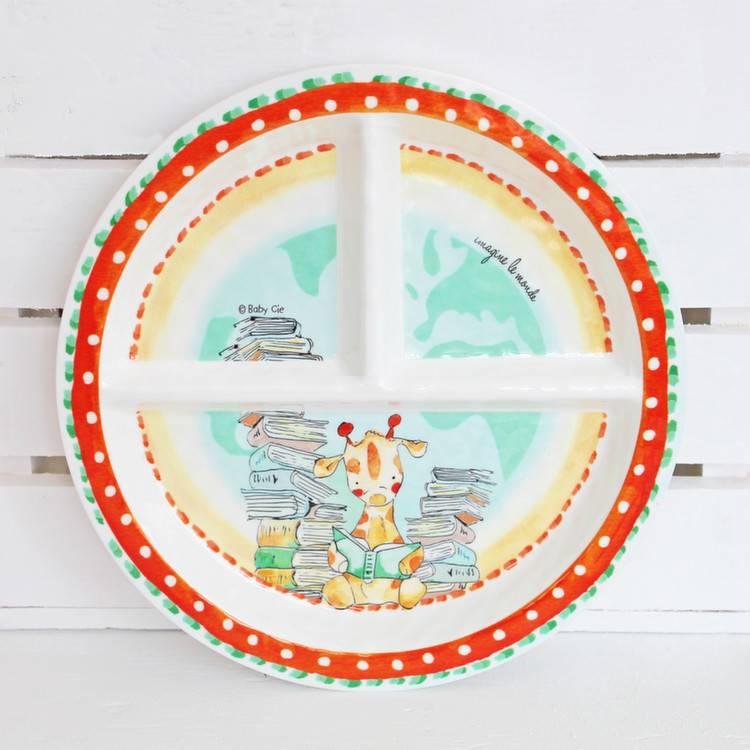 Melamine Section Plate