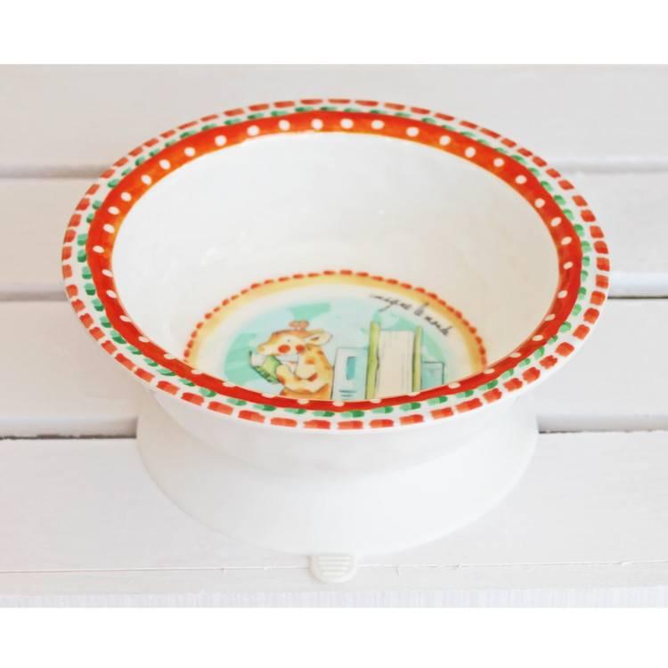 Melamine Suction Bowl