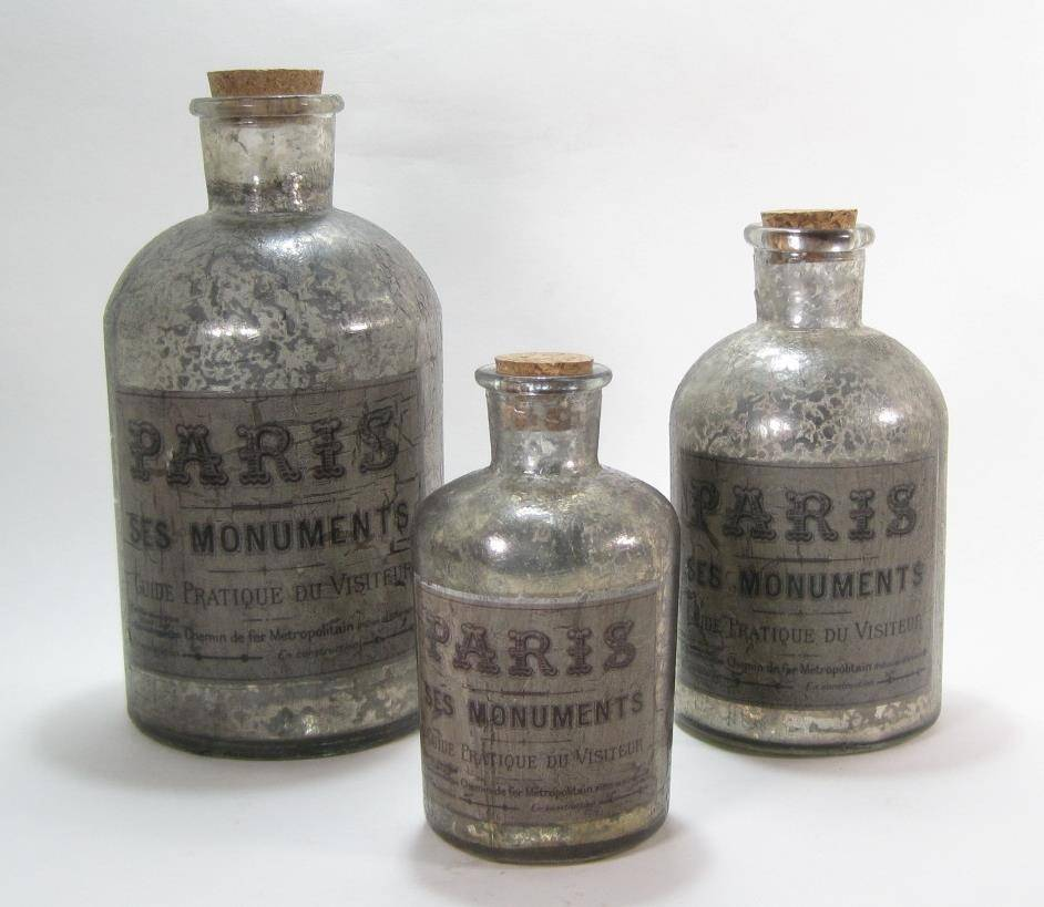 Vintage Paris Bottles