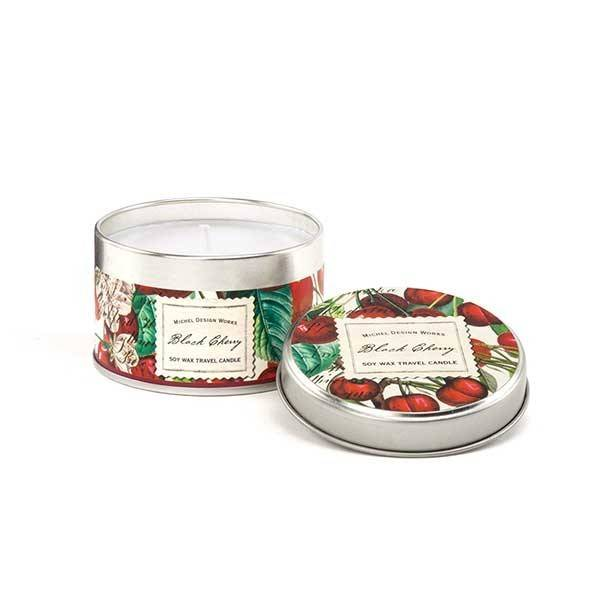 Black Cherry Travel Candle