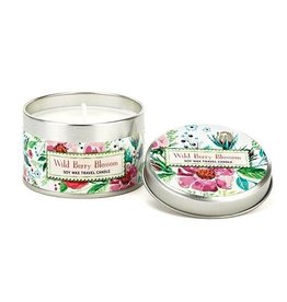 Wild Berry Blossom Travel Candle