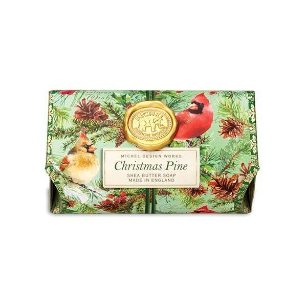 Christmas Pine Lg Bath Soap Bar
