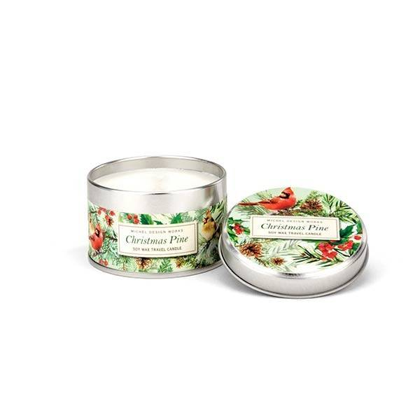 Christmas Pine Travel Candle