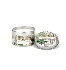 Winter Woods Travel Candle