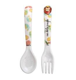 Melamine Fork & Spoon Set