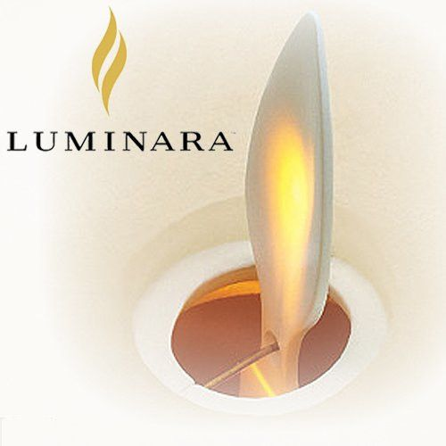 "Fleurish Home 7"" Luminara Pillar Candle w Timer & Batteries"