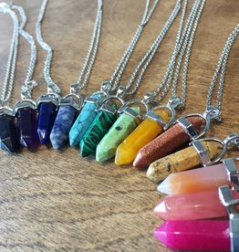 Crystal Stone Healing Necklace