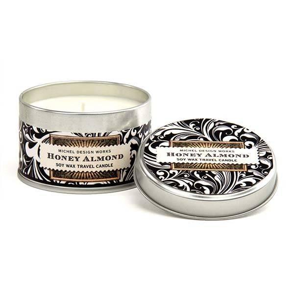 Michel Design Works Honey Almond Travel Candle