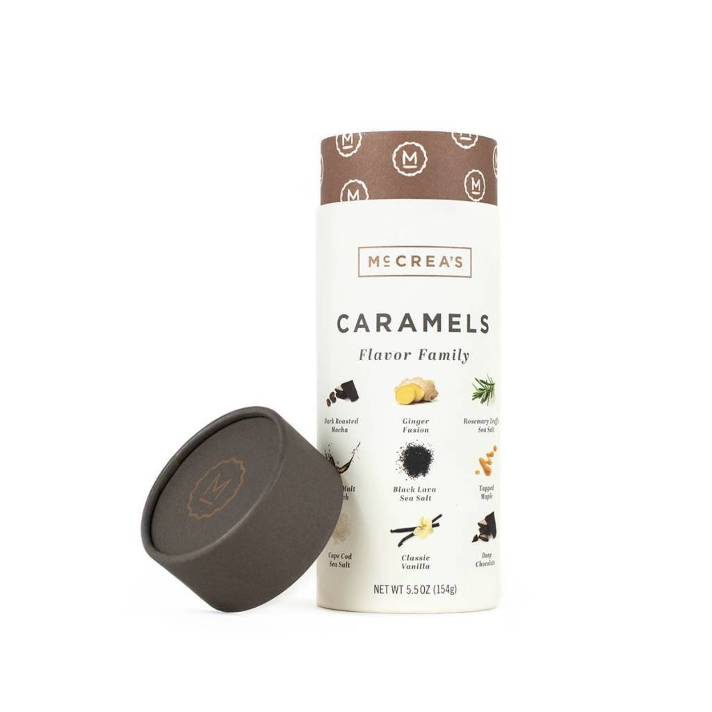 McCrea's Small Batch Caramels Sleeve