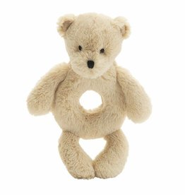 Jellycat Bashful Bear Honey Ring Rattle