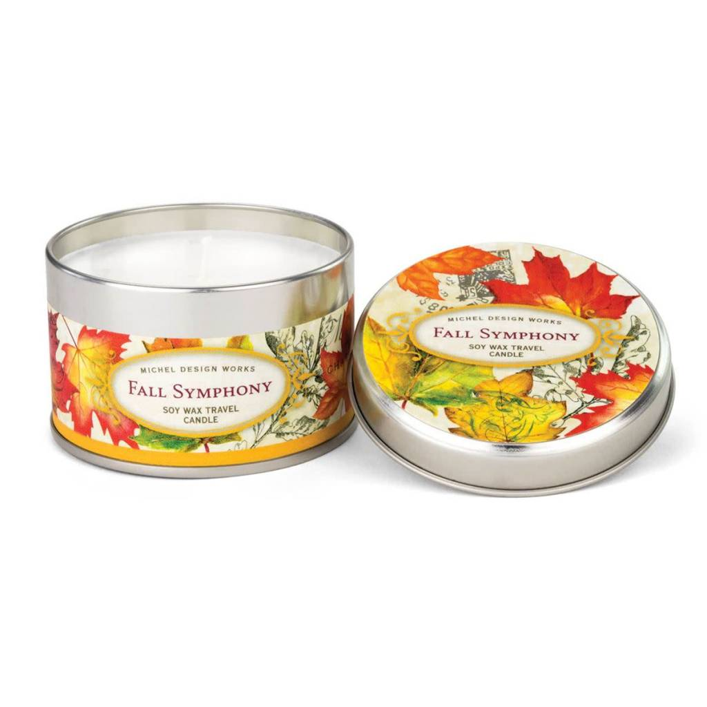 Fall Symphony Travel Candle