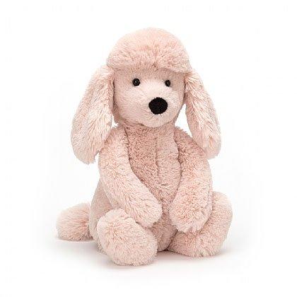 Bashful Blush Poodle Medium