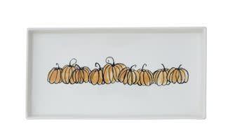 U-Pick Pumpkin Patch Stoneware Platter