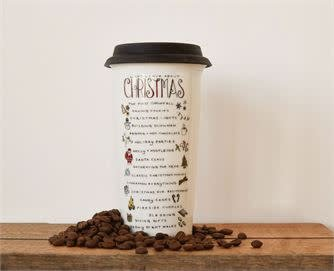 What I Love About Christmas Travel Mug