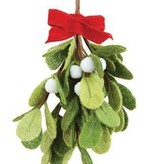 Fleurish Home Felt Mistletoe Bunch