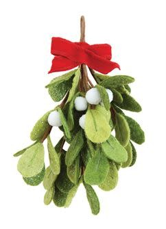 Felt Mistletoe Bunch
