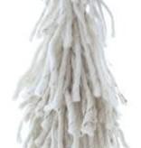 Lg Wool Tree on Wood