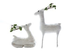 Wool Felt Deer (2 styles)