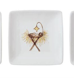 Fleurish Home Sm Square Manger Series Dish (3 styles)