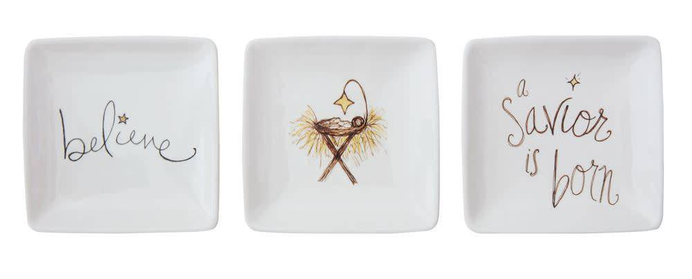 Sm Square Manger Series Dish (3 styles)
