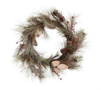 "Northwoods Wreath (27.5"")"