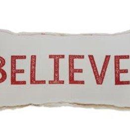 Fleurish Home Believe Pillow