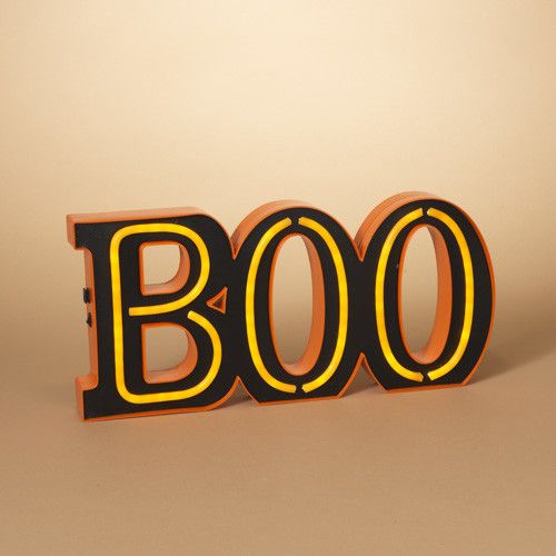 "Halloween LED Neon ""BOO"""