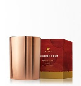 Thymes Simmered Cider Poured Candle