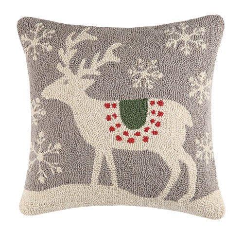 Scandinavian Deer Hook Pillow