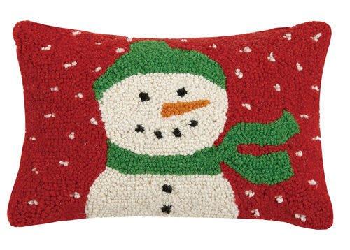 Fleurish Home Snowman Hook Pillow
