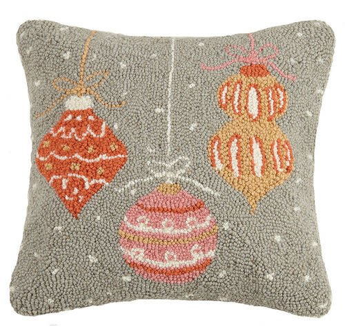 Fleurish Home Ornaments Hook Pillow
