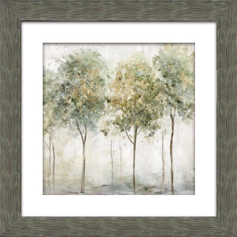 Fleurish Home Smokey Trees I Wall Art 18x18