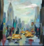 Fleurish Home Manhattan Sketches I Wall Art 18x18