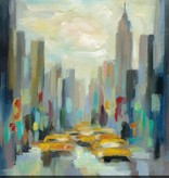 Manhattan Sketches II Wall Art 18x18