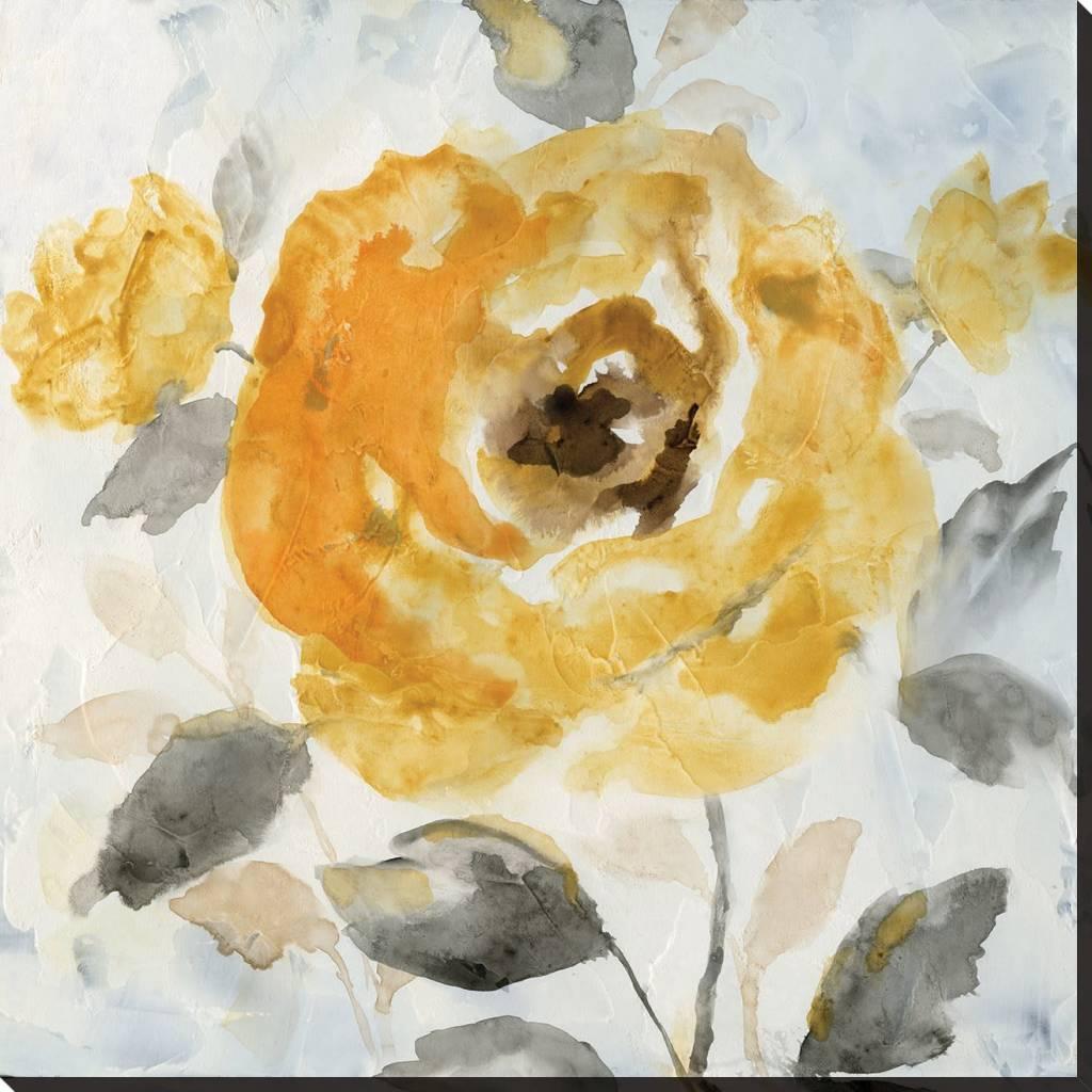 Fleurish Home Honey Rose II Wall Art 18x18