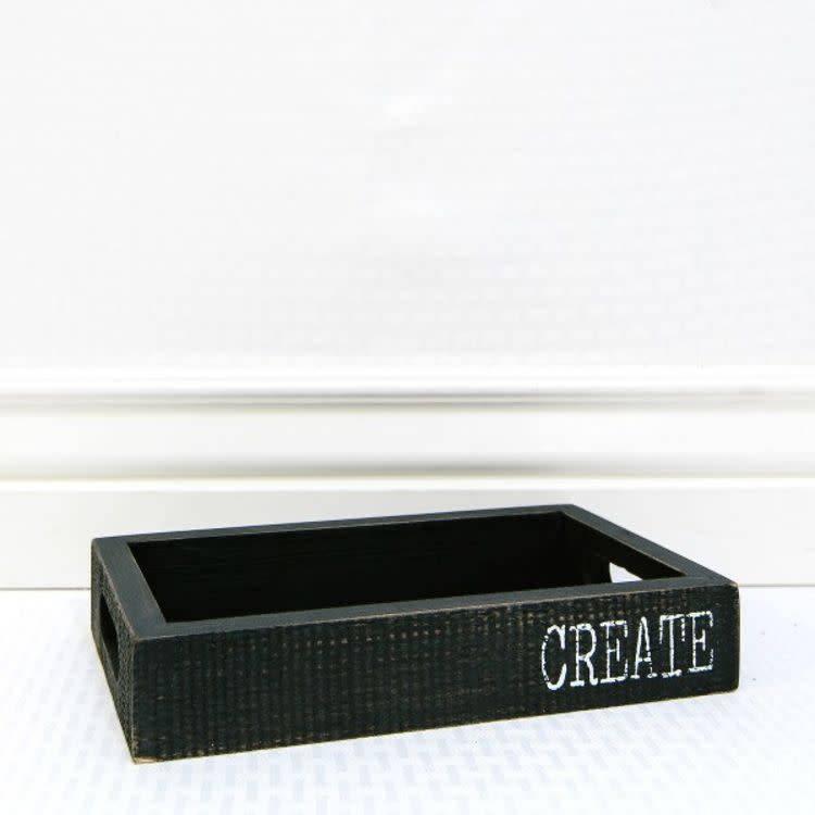 CREATE Wood Tray 10x6